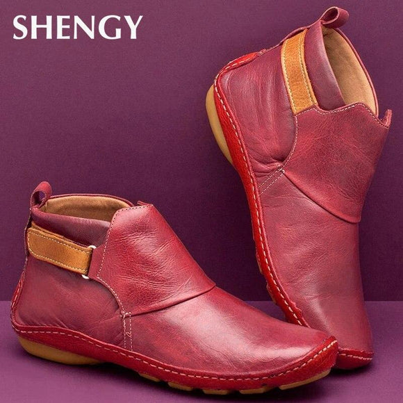 Women Shoes - Autumn Vintage Lace Up Women Shoes(Buy 2 for Extra 10% off,Buy 3 for Extra 15% off)