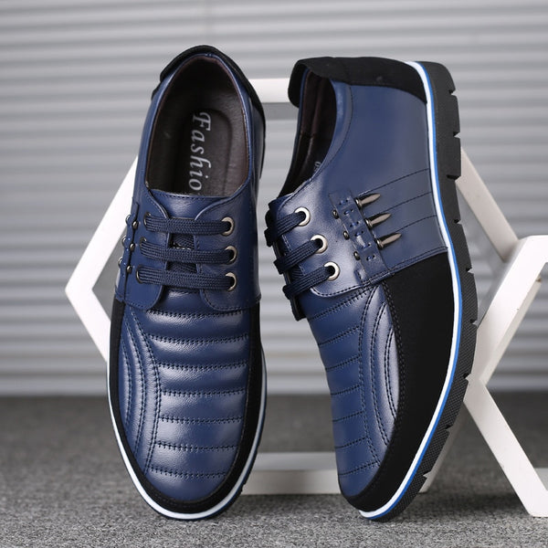 New Autumn Leather Men Casual Shoes(Buy