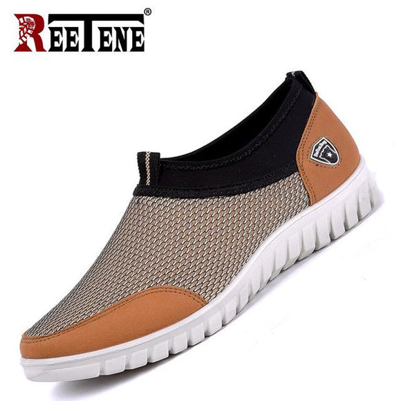 Men's Shoes  - 2019 New Mesh Breathable Comfortable Men Shoes(Buy 2 Get 10% off, 3 Get 15% off)
