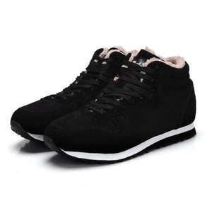 Men's Casual Warm Fur Sneakers
