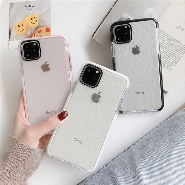Phone Case - Shockproof Bumper Frame Diamond Phone Case