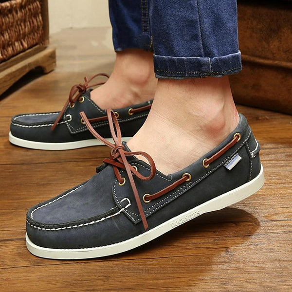 2019 Plus Size Men Lace-Up Casual Shoes