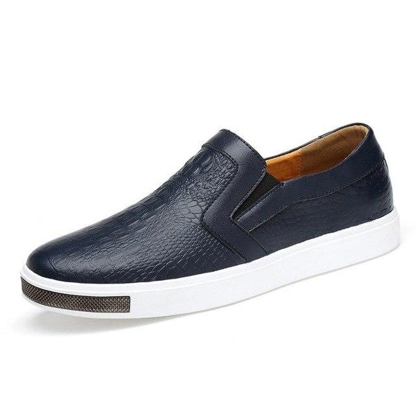 Men Genuine Leather New Fashion Comfortable Casual Shoes