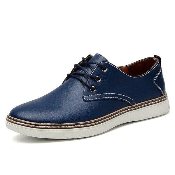 Top Men Genuine Leather New Fashion Comfortable Casual Shoes