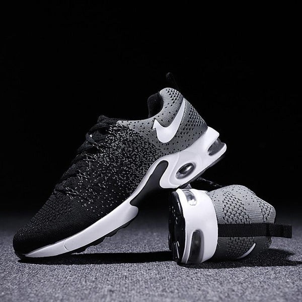 2019 Air Knitted Fly Weaving Jogging Sneakers