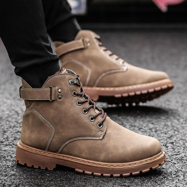 Men's Shoes - Men's Fashion Comfortable Non-slip Boot