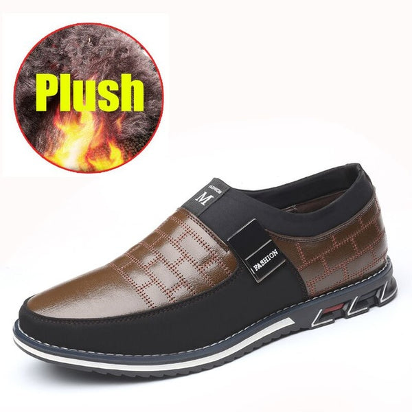 Men Shoes Autumn spring men's leather Big Size casual shoes(Buy 2 Get 10% off, 3 Get 15% off Now)