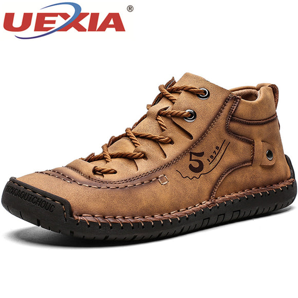 Men's Shoes - Comfortable Thick Plush Warm Men Snow Boots(Buy 2 Get 10% off, 3 Get 15% off Now)