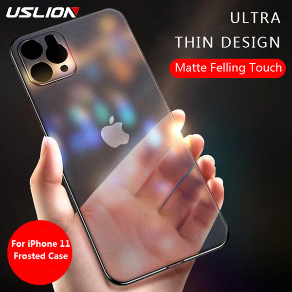 Jollmall Phone Case - Transparent Matte Solid Color Phone Case For iPhone