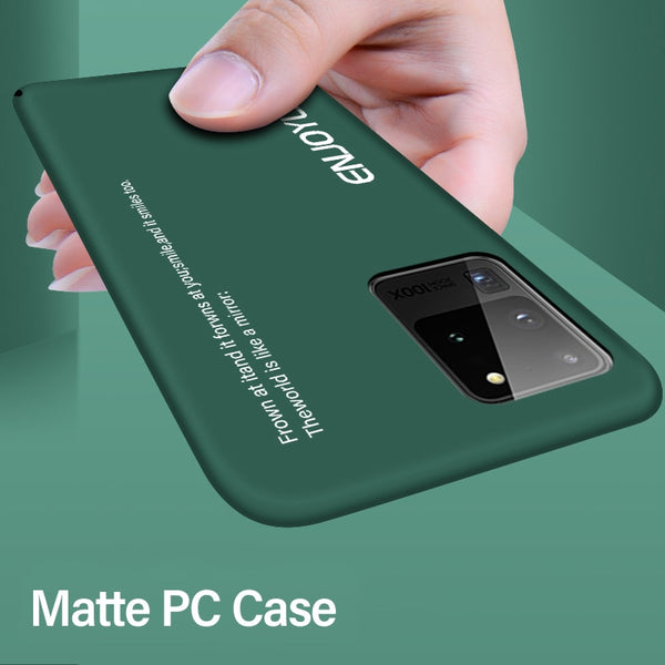 Jollmall Phone Case - Ultra-thin Colorful Matte Hard PC Phone Case