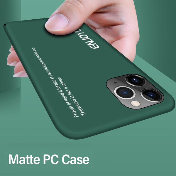 Jollmall Phone Case - Ultra-thin Colorful Matte Hard PC Phone Case For iPhone