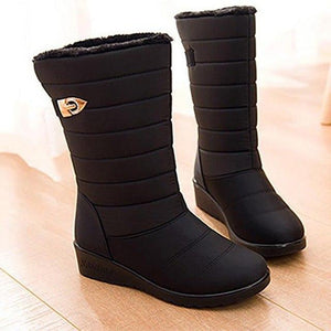Women Winter Waterproof Non-slip Breathable Snow Boots