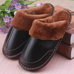 Winter Warm Indoor Thick Wool Slippers