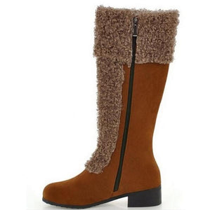 Shoes - Fashion Women's Knee High Warm Boots(Buy 2 Got 5% off, 3 Got 10% off Now)