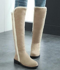 Shoes - Ladies over Knee Snow Boots