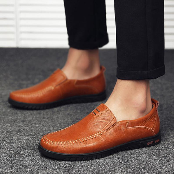 Shoes - 2018 Autumn Men Casual Leather Shoes