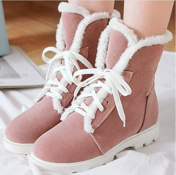 Shoes - Women's Autumn Winter Snow Warm Shoes