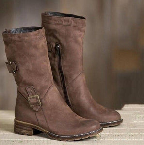 Shoes - 2018 Women's Casual Vintage Mid-calf Boots