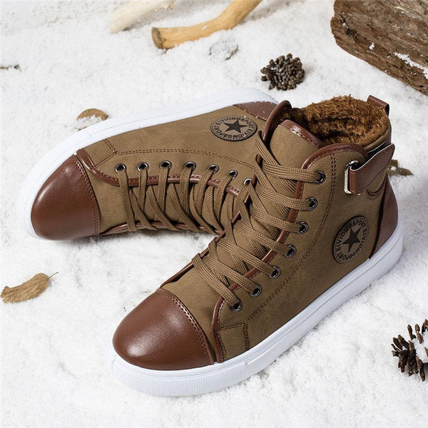 Men Shoes - 2018 New Men Fluff Warm Sneakers