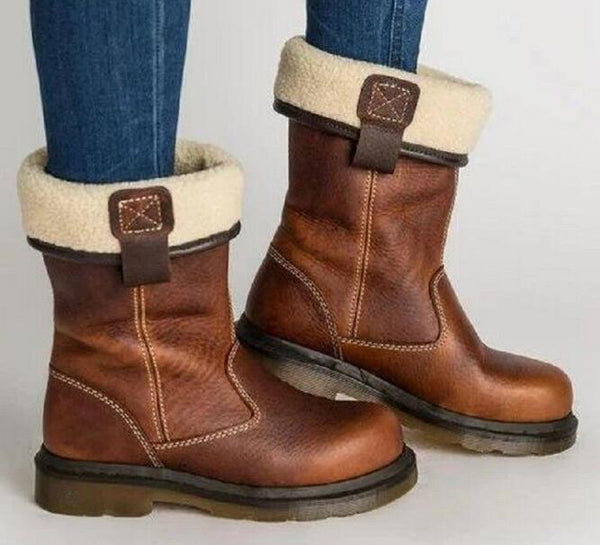 Shoes - New Arrival Genuine Leather Winter Boots
