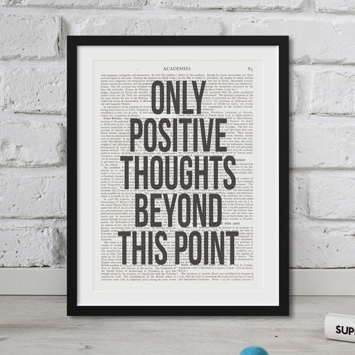 Only Positive Thoughts