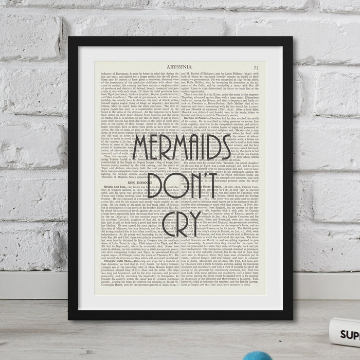 Mermaids Don't Cry