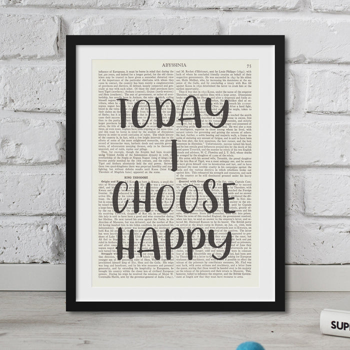 Today I Choose Happy
