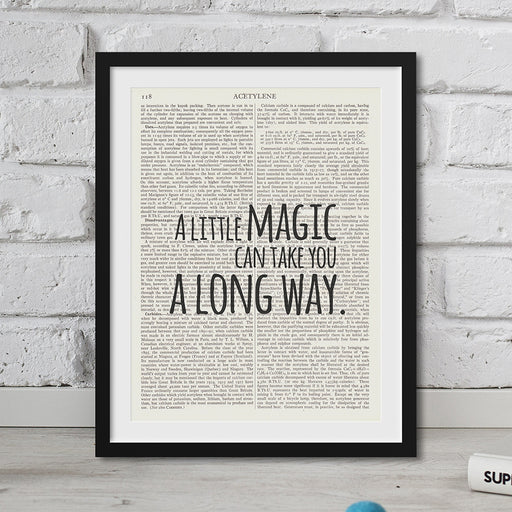 Roald Dahl Quote - a Little Magic