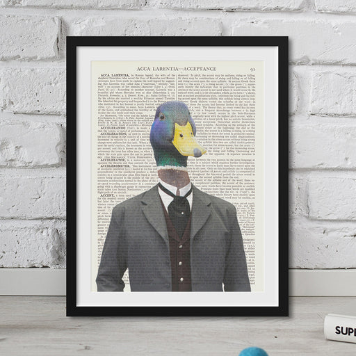 Duck Head Hipster Animal