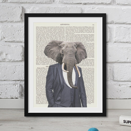 Elephant head Hipster Animal