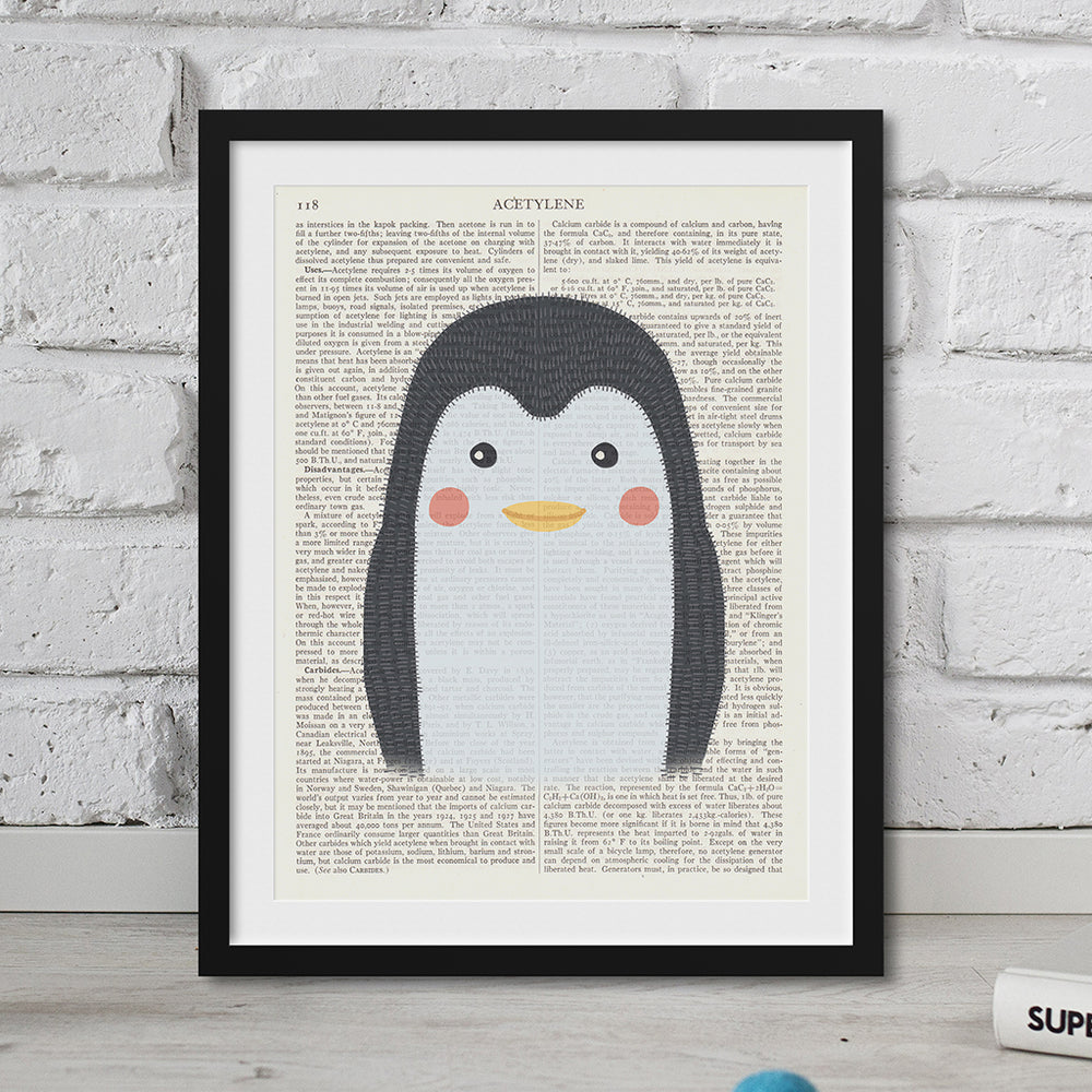 Penguin Nursery Art