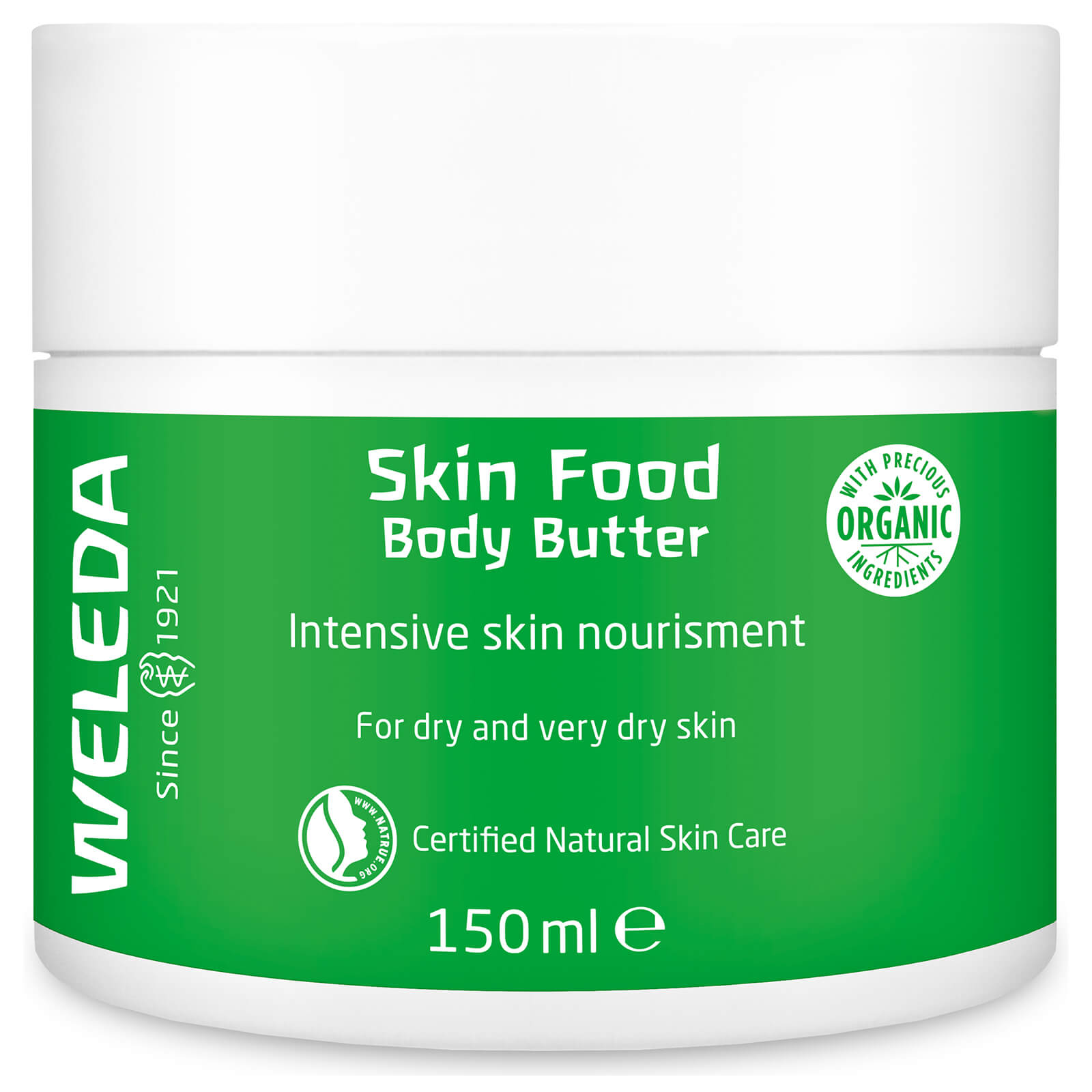 Skin Food Body Butter - Com manteiga Karité - Weleda