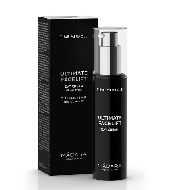 Creme de dia . Ultimate Facelift . Time Miracle . Anti-Idade . Mádara