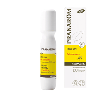 Gel Calmante Roll-On Pós Picada . 15ml . Bio . Vegan . Aromapic