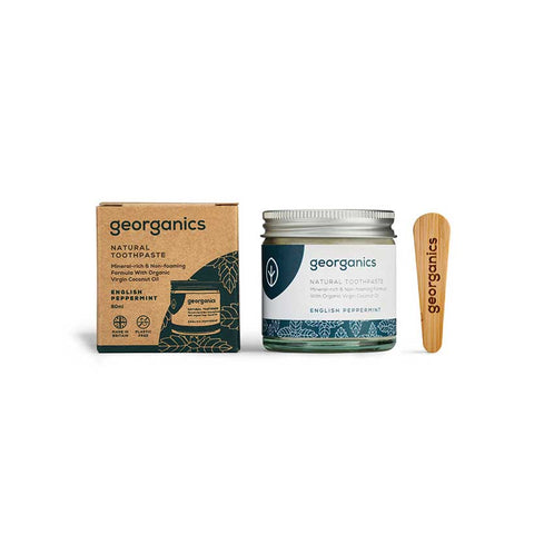 Pasta de Dentes Natural Georganics – Menta Inglesa . 60ml