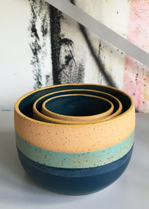 Blue Sunset Planter