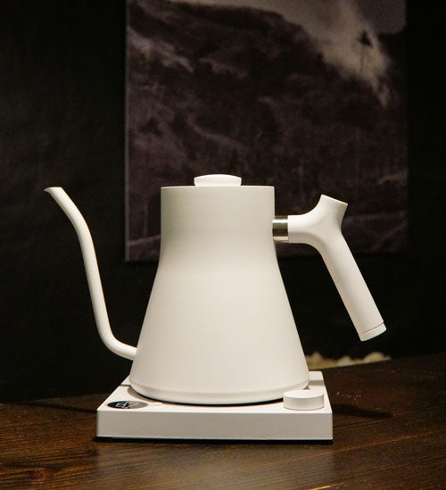 White Stagg Fellow Kettle EKG electric kettle