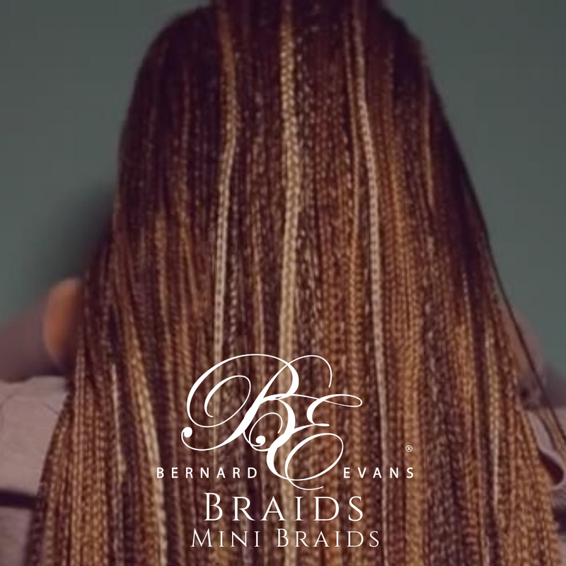 Bernard Evans Celebrity BRAIDS  - Mini Braids (2.5 Days) (Services starting from $500). Price shown below is deposit to confirm appointment