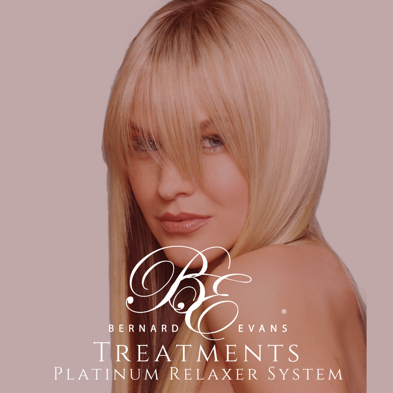 Bernard Evans Celebrity HAIR TREATMENTS - Platinum Relaxer System (Services starting from $175). Price shown below is deposit to confirm appointment