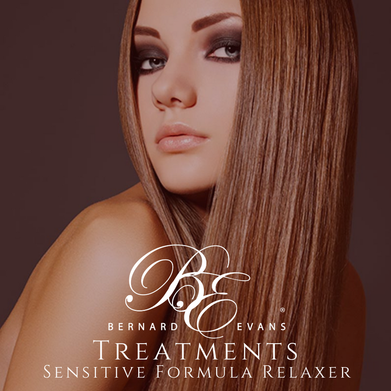 Bernard Evans Celebrity HAIR TREATMENTS  - Sensitive Formula Relaxer (Services starting from $145). Price shown below is deposit to confirm appointment