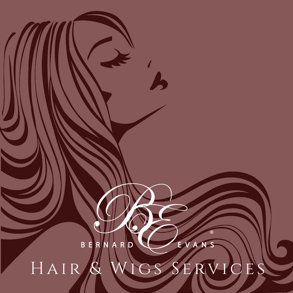 Bernard Evans Celebrity HAIR & WIGS- Custom Clip Ins (Human) (Services starting from $100). Price shown below is deposit to confirm appointment