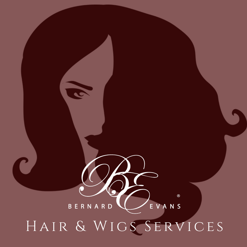 Bernard Evans Celebrity HAIR & WIGS - Custom Units (Wig Synthetic Fibers) (Services starting from $200). Price shown below is deposit to confirm appointment