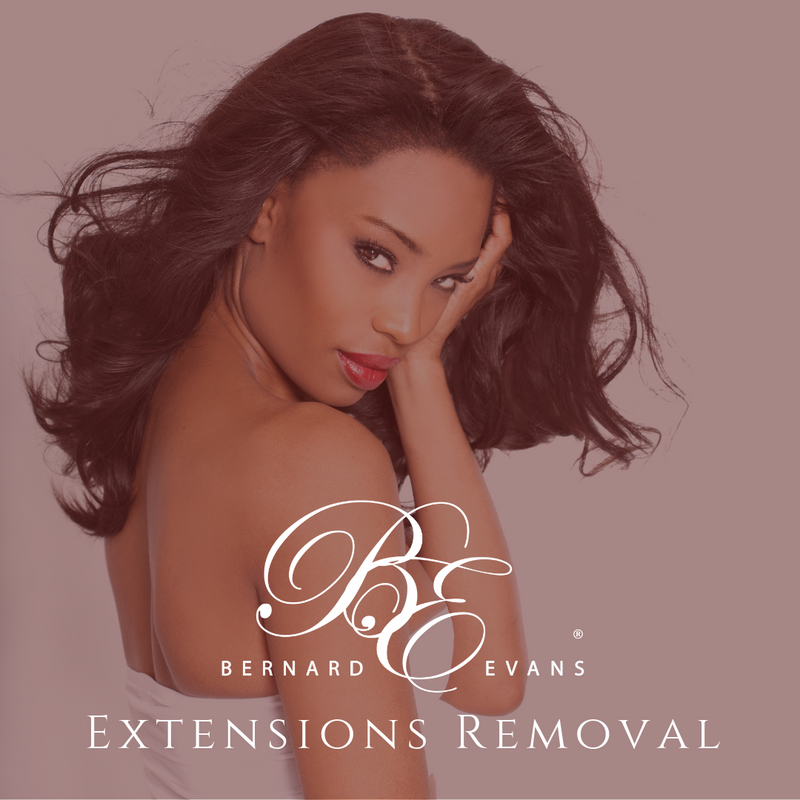 Bernard Evans Celebrity EXTENSIONS REMOVAL - Extensions Removal 2 (Partial Sew-In After 12 Weeks) (Services starting from $175). Price shown below is deposit to confirm appointment