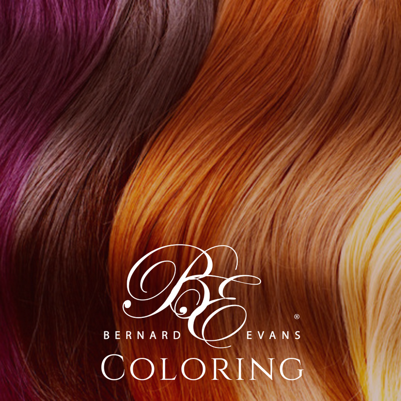Bernard Evans Celebrity COLORING (Units or Human Hair Clip-Ins) - Double Process Per Bundle (Services starting from $180). Price shown below is deposit to confirm appointment
