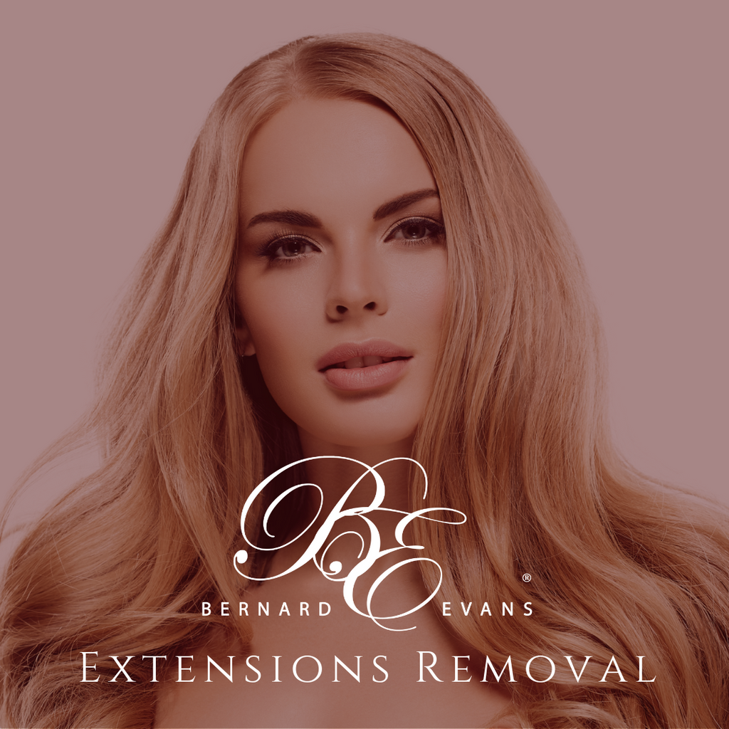 Bernard Evans Celebrity EXTENSIONS REMOVAL - Unit Removal (Services starting from $25). Price shown below is deposit to confirm appointment