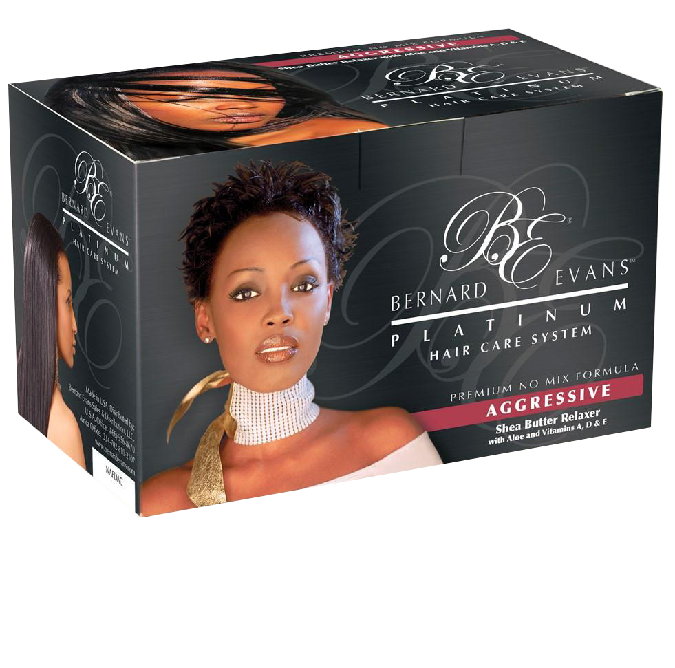 Bernard Evans Platinum Hair Care System - Relaxer (Super/Aggressive)