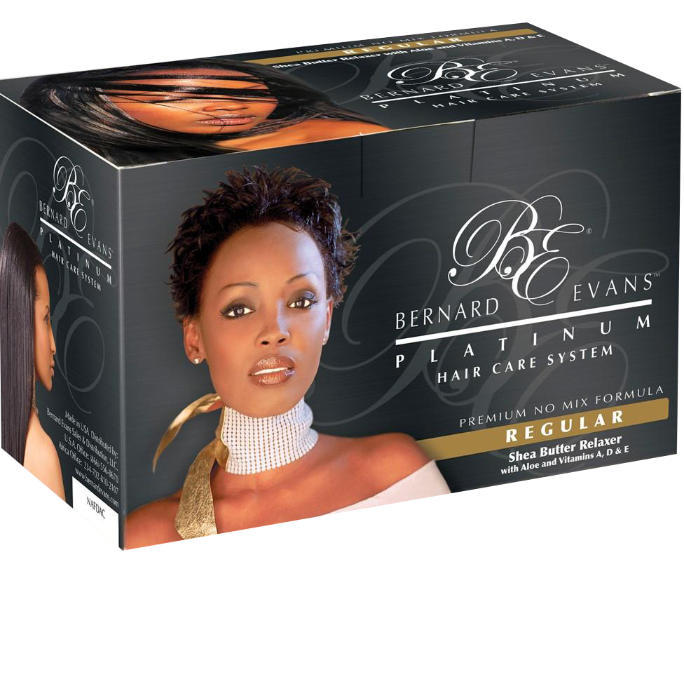 Bernard Evans Platinum Hair Care System - Relaxer (Regular)