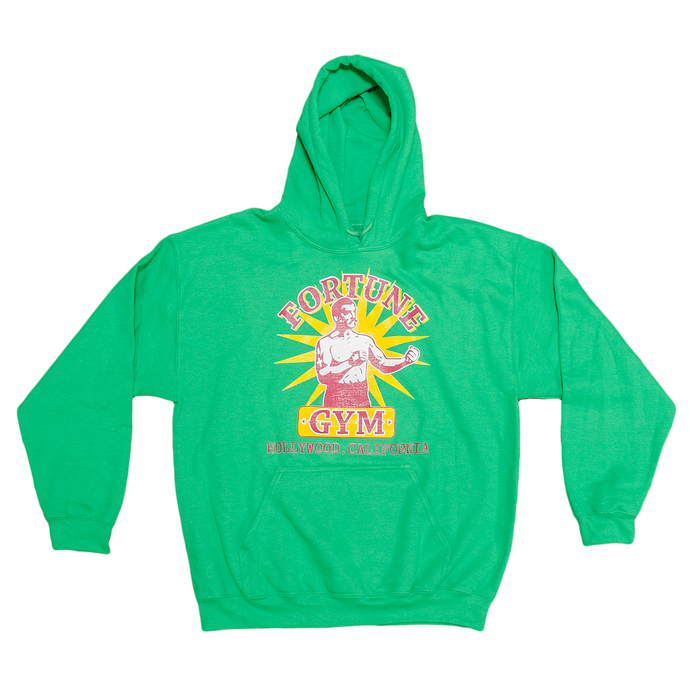 Fortune Gym Hoodie in Green