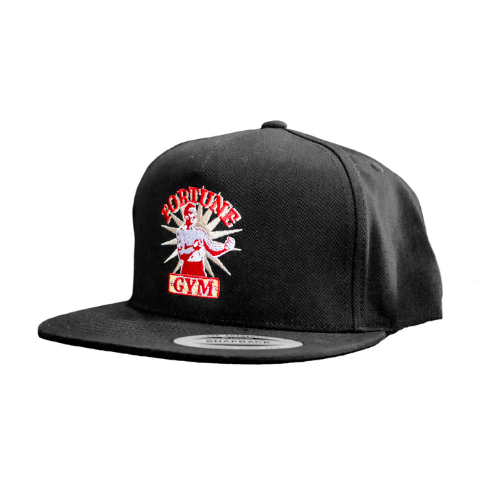 Snapback Black Fortune Gym hat