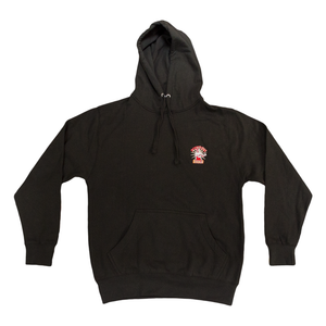 Black Hoodie - Fortune Gym embroidered logo